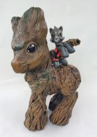 Groot and Rocket MLP by eruna