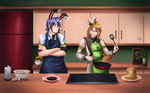 Cook Off: Boreas VS Cherri by Helija