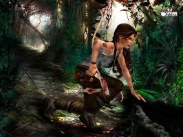 Lara Croft 35 by Orphen5