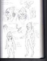 Mass Effect Fanfic Concept-Turian hybrid by procon-8