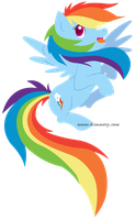Rainbow Dash by Kimmorz