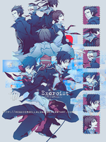 Ao no Exorcist ID by RequiemDellaLuna