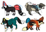 Auction adopts! by Kitdops