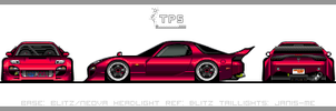 Mazda RX7 FD3S. by JacobKuiper