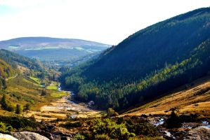 Wicklow Mountains by JulsBlack