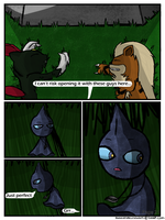 PMD: Monochrome Crusaders Chapter One: Page 5 by LinzHodge