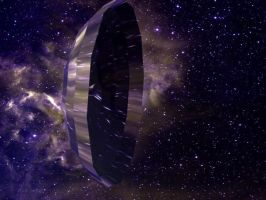 Solar Sail Spacecraft by FlyingCougar