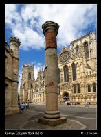 Roman Column York rld 03 by richardldixon