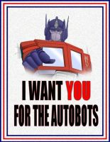 Autobot Recruitment Poster by NightyIcons