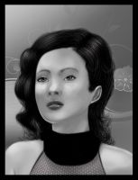 Asian Woman by thedarkgecko