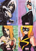 Marvel Bronze Age sketch cards - more cards 2 by JoeOiii