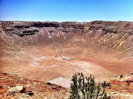 Meteor Crater2-Arizona by TheGerm84