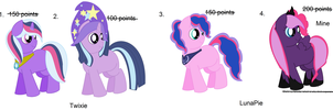 Mlp Love Foals Adoptables: Part 1: NOW DTA by ShellyCake