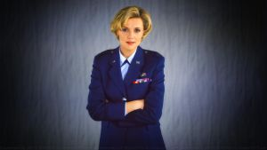 Amanda Tapping Captain Carter by Dave-Daring
