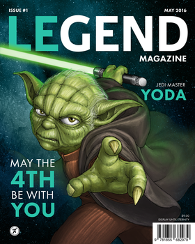Legend Magazine: Yoda by WEAPONIX