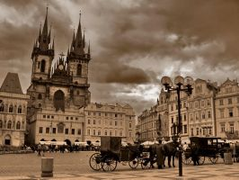 Retro Prague by Kharinn