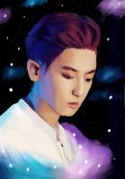 Chanyeol by darkpony145