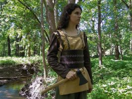 Viking Shieldmaiden Costume by FolkoftheWood