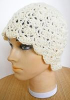 Shells and Trellis Hat by Risa-Moon