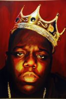 Biggie Smalls Notorious B.I.G Painting by HopeChahine