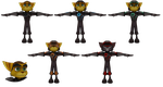 Ratchet and Clank Future: ACiT - Armor Pack by o0DemonBoy0o