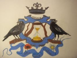 Crow Girl's Coat of Arms.. by babyrubydoll