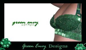 green envy - modelled by green-envy-designs