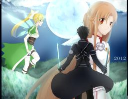 Sword Art Onlineeeeee by quaxxerl