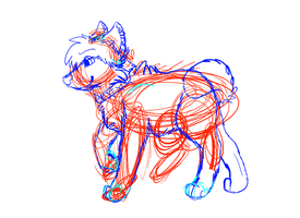 And this is what my sketches look like by Bunniy