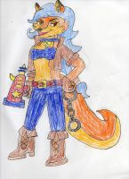 A Very Foxy Cop by trexking45