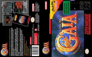 Illusion of Gaia - SNES Custom UGC Cover by vladictivo