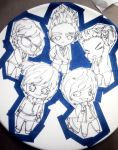 Bias Plate Pottery Project WIP by xTHExFUNNNX