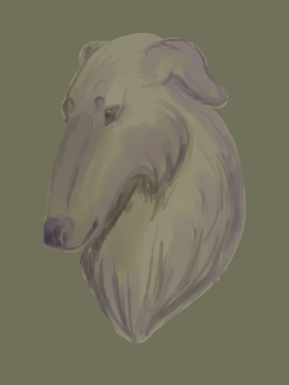 Neutral Borzoi by SockeyeSalmon
