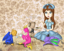 Come to Join the Tea Party? by PrinceVi