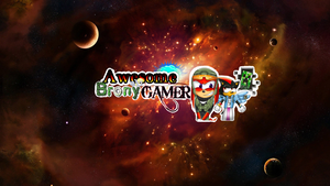 AwesomeBronyGamer's Youtube Banner: Finished by MissAquaAnime