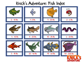 KA:CA: Fish Index by The-Knick
