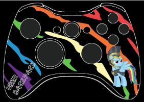 Rainbow Dash MLG Controller by MrBackpack