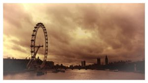 Carte postale de Londres 2 by Douce-Amertume