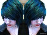 blue hairrrrz by SaraSunshineeeee