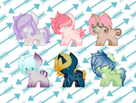 Pony adopts 24-29 SET PRICE 3/6 OPEN by Mist-Flame-Adopts