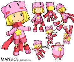 Mango Character Sheet thing by CubeWatermelon