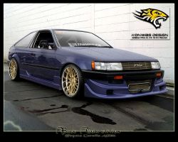 Toyota Corolla AE86 by VTCE
