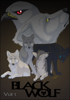Black Wolf Volume 1 Front Cover by Stripy-BlackWolf