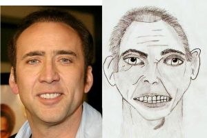 Comparing Nicolas Cage Face by indartlover