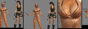 Lara vs. Nurse by Rockeeterl