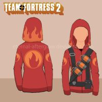 Team Fortress 2 Pyro Hottie's Hoodie Tutorial by Eternal-Afterglow