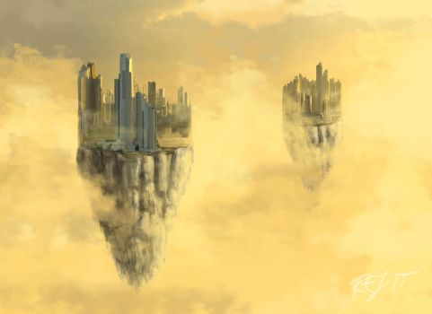 Floating Cities by rebeccauponastar