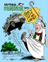 Mother Palestine by Latuff2