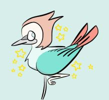 Pearl bird by choc-attack