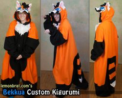Bekkua Custom Kigurumi! by lemonbrat